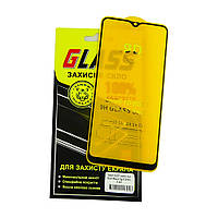 Защитное стекло для SAMSUNG A207 Galaxy A20S (2019) Full Glue (0.3 мм, 2.5D, чёрное)