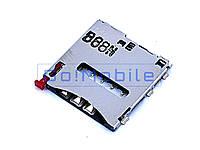 Коннектор SIM Sony C6802 / C6806/C6833/C6902/C6903/C6906/D5322/D5503/D6502/D6503/D6543/Table tZ2