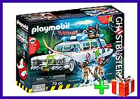 Игровой Набор Конструктор Плеймобил Охотники за привидениями: Автомобиль Экто-1 Playmobil 9220