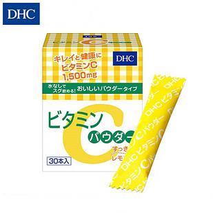 DHC Витамин С в порошке, 1500 мг, 30 саше на 30 дней