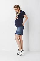 Юбка джинсовая для беременных 1900 0032, фото 1