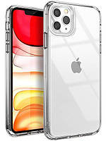 Силиконовый чехол-накладка для Apple iPhone 11 Pro Max. Накладка ClearView для Айфон 11 Про Макс