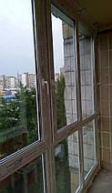 Французское остекление Г-образного балкона, фото 3