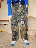 Штаны для мальчика на флисе на рост 116-134