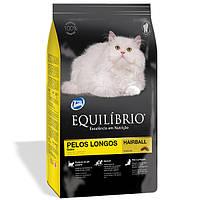 Сухой корм супер премиум для длинношерстных котов (15 кг.) Equilibrio™