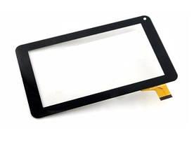 Сенсор (Тачскрин) для планшета GoClever Tab R70 (тип 2) 30 pin (186x111mm) (Черный) Оригинал Китай