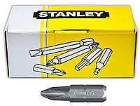 Набор насадок отверточных STANLEY Cr-V PH2х25мм 100 шт