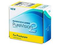 Контактные линзы PureVision 2 Multifocal 6шт в уп