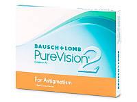 Контактные линзы PureVision 2 for Astigmatism (3 шт)