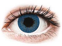 Цветные контактные линзы FreshLook Dimensions Pacific голубые-6шт. ( коррекционные)