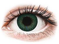 Цветные контактные линзы FreshLook Dimensions Carribean зеленые- 6шт. ( коррекционные)