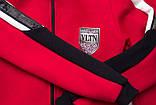 Костюм спортивный для девочки теплый SmileTime VLTN, красный, фото 7
