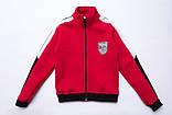 Костюм спортивный для девочки теплый SmileTime VLTN, красный, фото 9
