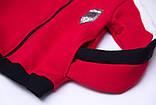 Костюм спортивный для девочки теплый SmileTime VLTN, красный, фото 10
