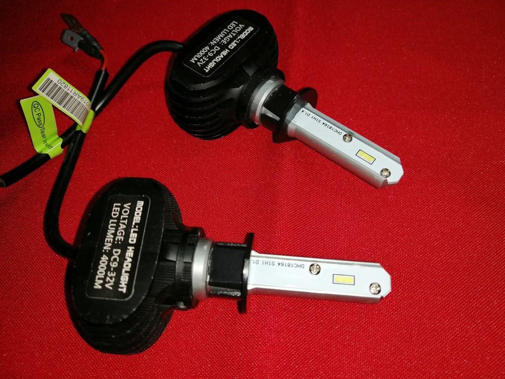 LED лампи для автомобіля S1 H1