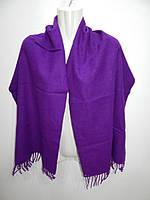 Палантин - шарф фирменный женский теплый (шерсть) benetton 040ш