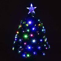 Искусственная ёлка светящаяся 60 см, 55 веток - 203905