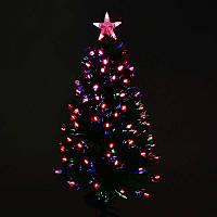 Искусственная ёлка светящаяся 90 см, 80 веток - 203900