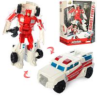 Трансформер робот  с оружием. Трансформер игрушка для детей. Трансформер машинка робот.