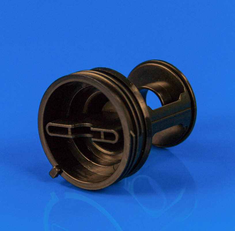 Крышка насоса Indesit (фильтр)