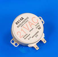 Моторчик тарелки для микроволновки 21V 5/6rpm Samsung DE31-10154D