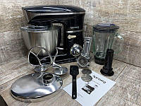 Кухонный комбайн   тестомес мясорубка блендер 3 В 1 Rainberg RB - 8080 2200 Вт