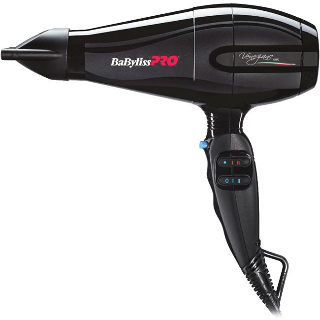 Фен для волос Babyliss PRO Veneziano Ionic BAB6610INRE профессиональный, 2200Вт