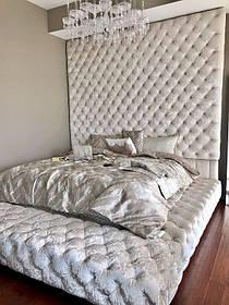 Кровать Дизайнерская Под Заказ Элегия-57 (Мебель-Плюс TM)