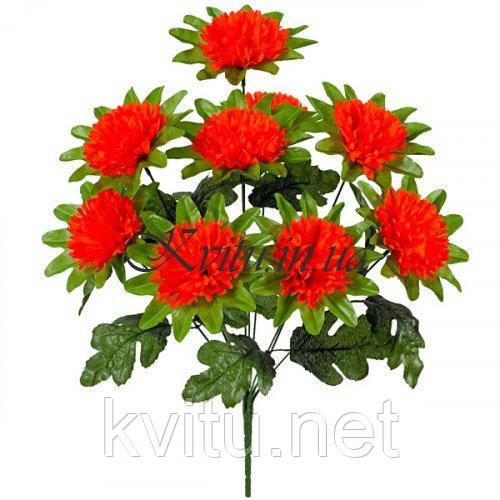 Искусственные цветы букет гвоздики Шабо, 47см