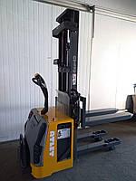 Штабелер электрический поводковый NISSAN ATLET  2008р  1400кг 305см Весы от 1 кг