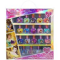 Детский лак для ногтей принцесса Белль Дисней 18 штук смываются водой на водной основе TownleyGirl Disney
