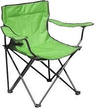 Раскладное кресло паук с подстаканником B15701, салатовое