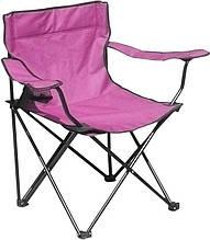 Раскладное кресло паук с подстаканником B15701, розовое