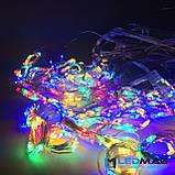 Светодиодная гирлянда Паутинка Роса Штора 3*2м Мультицвет с контроллером, фото 5