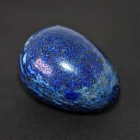 Яйцо сувенир из натурального камня Лазурит d-35х25+-мм