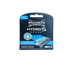 """Сменные кассеты """"Wilkinson Hydro 5"""" 6 шт в уп"""