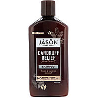 Шампунь от перхоти, зуда головы лечебно-профилактический Dandruff Relief, 355 мл Jason Natural