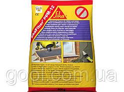 Sika Fiber PPM-12 фибра полипропиленовая 12 мм. 0,6 кг упаковка для стяжки, штукатурки в бетон