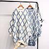 Подовжений светр оверсаз в трьох кольорах
