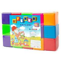 Кубики большие 15шт (40*8,5*25см) 022 Бамсік