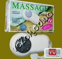 Карманный мини массажер Pocket Comfortable Massager JY-308 на батарейках, фото 1
