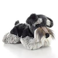 Мягкая игрушка SD5454   собачка, шнауцер, 35см