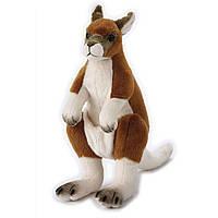 Мягкая игрушка 770834   кенгуру, 27см, с сумкой