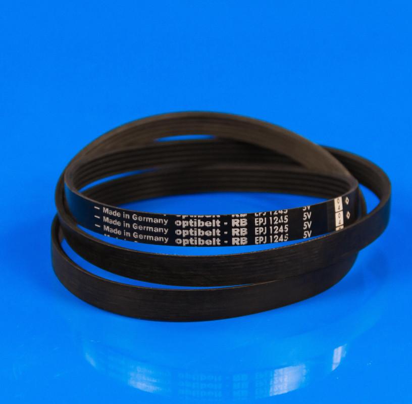 Черный ремень «Optibelt» 1245 J5 EL