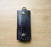 Ключница кожаная с карабином, фото 1