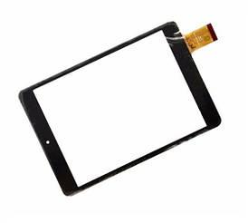 Сенсор (Тачскрин) для планшета GoСlever Quantum 785 (197*132 мм) 40pin (Черный) Оригинал Китай
