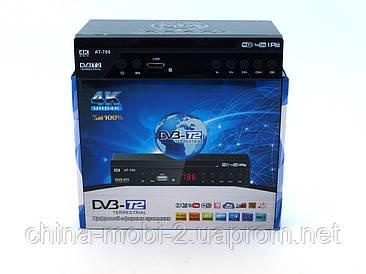AT786 приймач для цифрового ТБ DVB-Т2 TV тюнер Т2 4K 3D Terrestrial