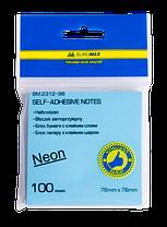 Блок для заметок NEON 76 x76мм, 100 листов, ассорти, фото 2