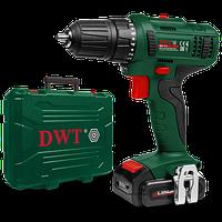 Аккумуляторный шуруповерт DWT ABS-12 L-2 BMC (12 В, 1.5 А/ч, двухскоростной)