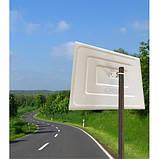 Cферическое  дорожное зеркало обзора прямоугольное 800х600 мм  (h), фото 3